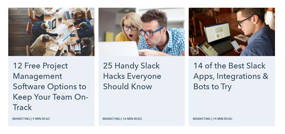 blogpost relacionados